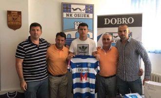 Mirlind Daku flet për herë të parë pas transferimit te NK Osijek