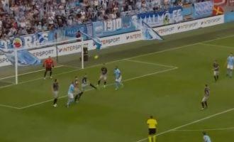 Malmo shënon dy gola të shpejtë ndaj Dritës (VIDEO)