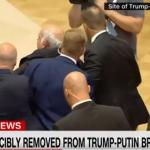 Arsyeja pse u largua gazetari nga konferenca e Trumpit dhe Putinit