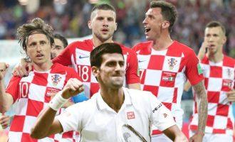 Djokovicit nuk i bëjnë përshtypje kërcënimet serbe, e çon në qiell Kombëtaren kroate