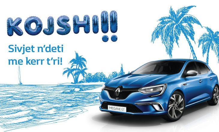 """""""Aaa kojshi, sivjet në deti me kerr të ri"""" – kampanja e re kreative nga Auto Mita për veturat e reja"""