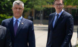 Thaçi e Vuçiqi s'e mohojnë mundësinë e ndryshimit të kufijve