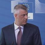 Thaçi për heqjen e vizave: Nuk është dhuratë nga BE, por punë e Kosovës