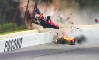 IndyCar, mrekullia shpëton pilotin në aksidentin e frikshëm [Video]
