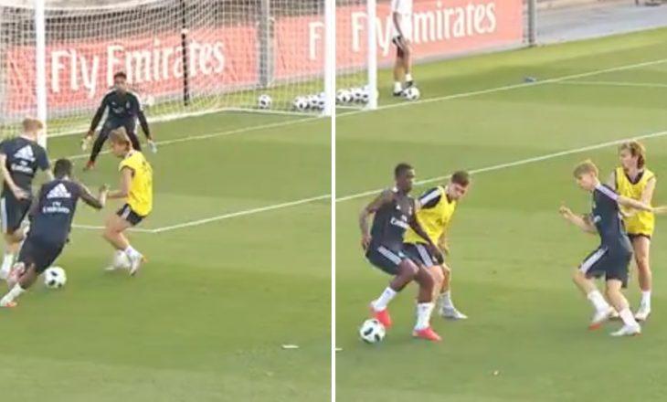 Odegaard dhe Vinicius dhurojnë spektakël, braziliani shënon gol (VIDEO)