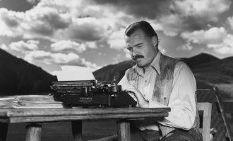 Publikohet për herë të parë një histori e shkurtër nga Ernest Hemingway