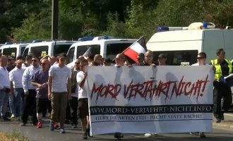 Përleshje mes protestuesve në Berlin