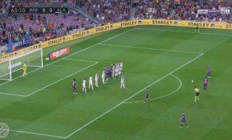 """Messi nga gjuajtja e lirë – ndodhë e """"zakonshmja"""""""