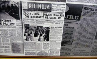 Para 28 viteve Serbia mbylli gazetën e vetme të përditshme shqipe në Kosovë 'Rilindja'