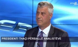 """Analisti në RTK me një pyetje të """"butë"""" për Thaçin: Si po e bëni gjumin?"""