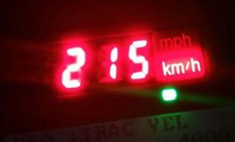 Vozitje me shpejtësi ekstreme në rrugët e Tiranës