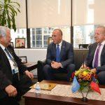 Haradinaj takon në New York, presidentin e Samoa's