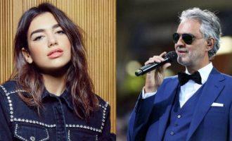 Andrea Bocelli dhe Dua Lipa së shpejti publikojnë këngën 'If Only'
