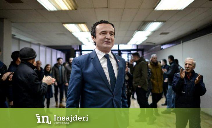 Reagimi ironik i Albin Kurtit ndaj akuzave të djalit të presidentit Hashim Thaçi