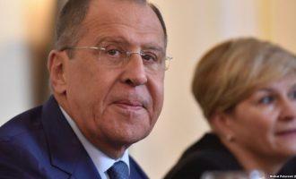Lavrov bën thirrje për zbatim të marrëveshjeve Kosovë -Serbi