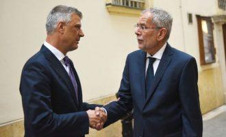 Thaçi dhe Van der Bellen flasin për arritjen e marrëveshjes në mes Kosovës dhe Serbisë