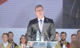 Vuçiq mban fjalim 45 minuta për Kosovën