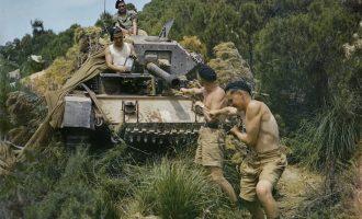 Fotografi të rralla me ngjyra gjatë Luftës së dytë botërore