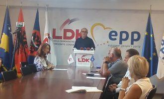 LDK-ja kritikon Shpend Ahmetin për gjendjen e shkollave në Prishtinë