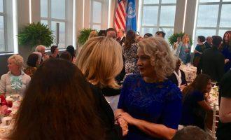 Zonja e Parë e Kosovës pritet nga Melania Trump – pritet të flasë për luftën kundër narkotikëve