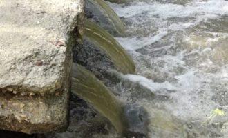 Banorët e lagjes Kalabria përballen çdo ditë me ujërat e zeza