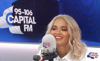 Rita Ora lë të nënkuptohet se në albumin e ri ka bashkëpunuar me Eminemin