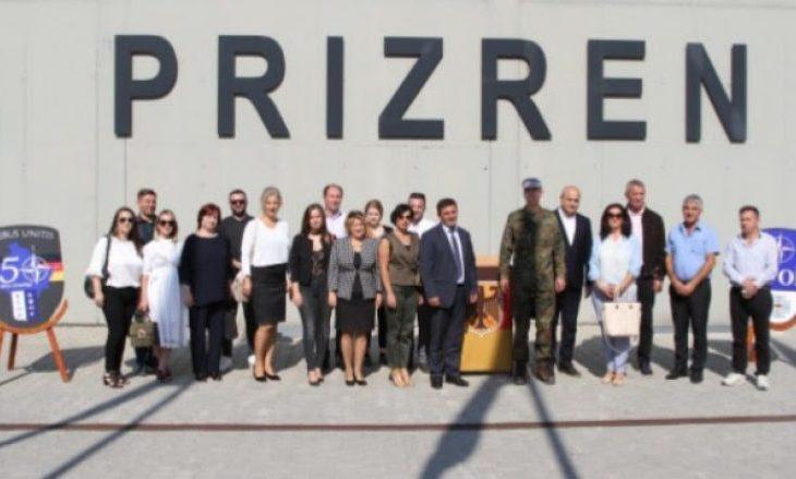 Kontingjenti gjerman i KFOR it largohet nga Prizreni  vendoset në Prishtinë